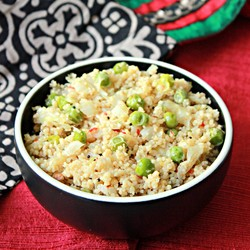 Couscous with Cabbage and Peas Recipe