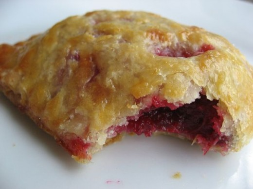 Cranberry cardamom turnovers
