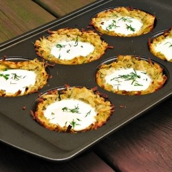 Dill Breakfast Potato Cups Recipe