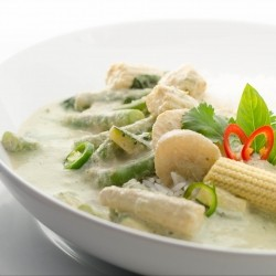 egan Green Curry and Homemade Paste Recipe