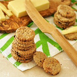 Flax Fig Crackers Recipe