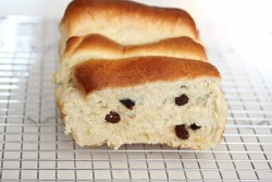Fluffy Raisin Bread with Tangzhong Method