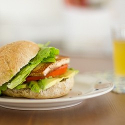 Fried Tofu Sandwich Recipe