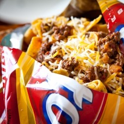Frito Pie with 1 Hour Texas Chili