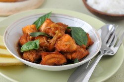 Ginger Basil Clay Pot Salmon Recipe