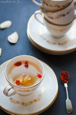 Ginseng Goji Berry Tea