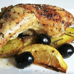 Greek Rosemary Chicken