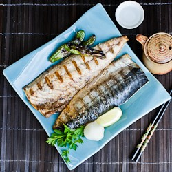 Grilled Shioyaki Saba Mackerel