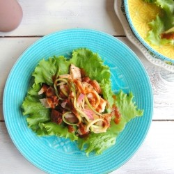 Grilled Turkey Lettuce Wraps Recipe