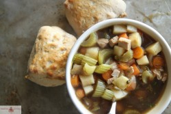 Guinness Chicken and Vegetable Soup
