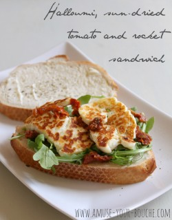 Halloumi Sandwich Recipe