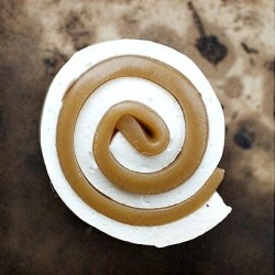 Homemade Caramel Marshmallow Escargot Snail