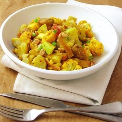 Indian style Potato Salad