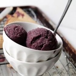 Lemon Blueberry Ice Cream Recipe
