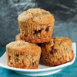 Maple Banana Muffins Recipe
