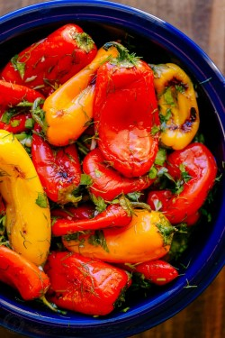 Marinated Mini Bell Peppers