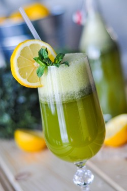Mint Green Lemonade Recipe