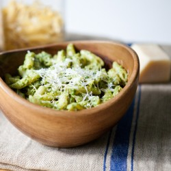 Nutty Arugula Pesto with Penne Recipe
