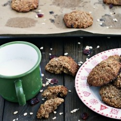 Oatmeal Apple Honey Cookies Recipe