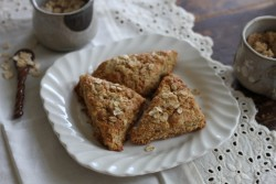 Oatmeal Brown Sugar Scones