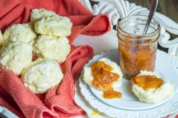 Peach Preserves with Basil and Ginger Recipe