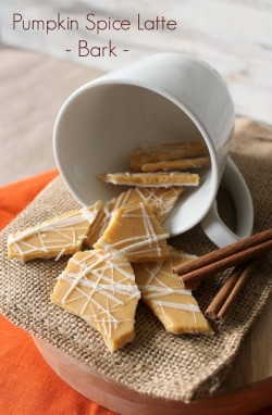 Pumpkin Spice Latte Bark Recipe