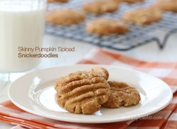 Pumpkin Spiced Snickerdoodles Cookies Recipe