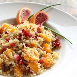 Quinoa Salad with Blood Orange Dressing