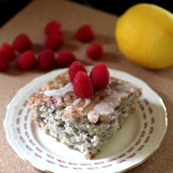 Raspberry Lemon Sheet Cake Recipe