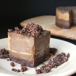 Raw Chocolate Peanut Butter Tart Recipe