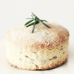 Rosemary Almond Meal Biscuits