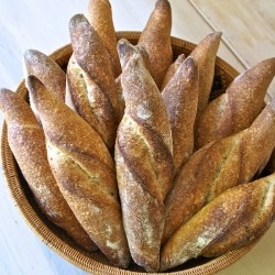 Rosemary Sourdough Twist Bread