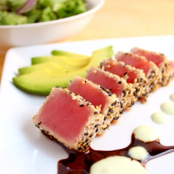 Seared Ahi Tuna Salad Recipe