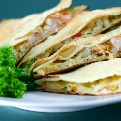 Shrimp Crab Quesadillas