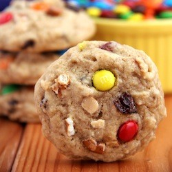 Skinny Trail Mix Cookies Recipe