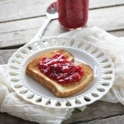 Spiced Cranberry Pear Jam Recipe