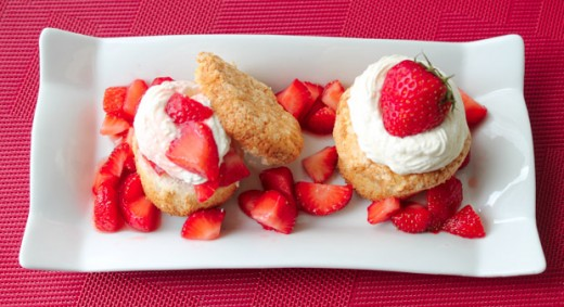 Strawberry Shortcake Gluten Free Recipe