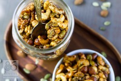 Sweet Spicy Nut Mix Recipe