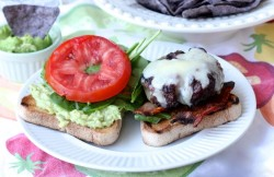 Swiss Cheese Burgers with Bacon Avocado Recipe