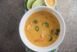 Thai Red Curry coconut Corn Chowder Recipe