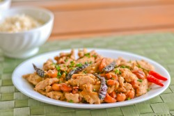 Thai Style Cashew Chicken Recipe