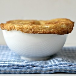 Vegetable Pot Pies with Sour Cream Crust Recipe