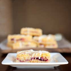 White Chocolate Raspberry Swirl Bars