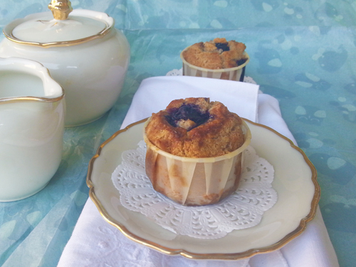 Wholemeal Blueberry Muffins Recipe