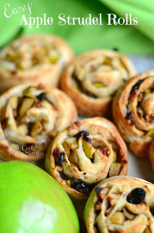 Apple Strudel Rolls Recipe