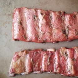 Applewood Smoked Lamb Ribs Recipe