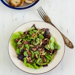 Bacon And Broad Bean Salad Recipe