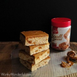 Biscoff Crispy Treats Recipe