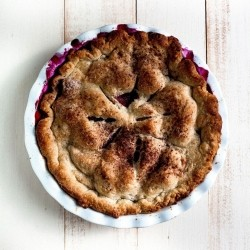 Blackberry Peach Pie Recipe