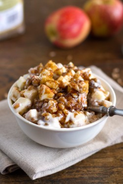 Brown Sugar Apple Wheat Berry Yogurt Parfaits